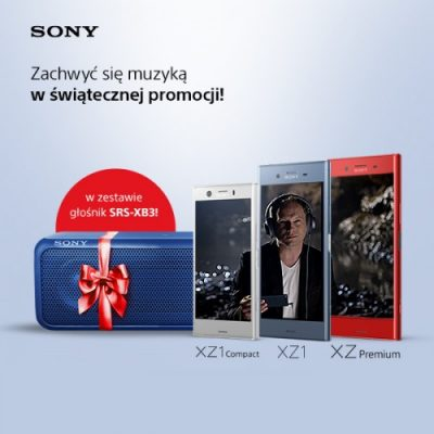 Sony Mobile - świąteczny wysyp promocji