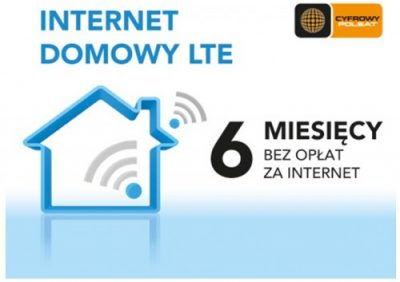 Cyfrowy Polsat - Internet Domowy LTE