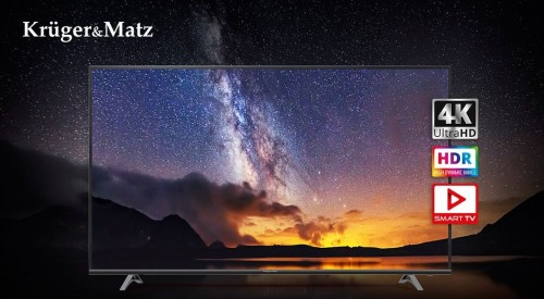 Kruger&Matz - telewizory smart TV 2017