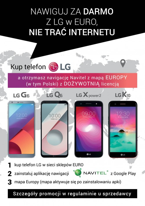 LG Navitel - nawiguj za darmo