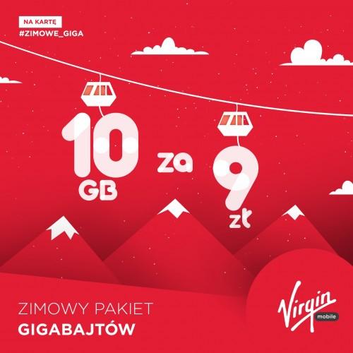 Virgin Mobile - Bombkowe 3 GB dla wszystkich na święta