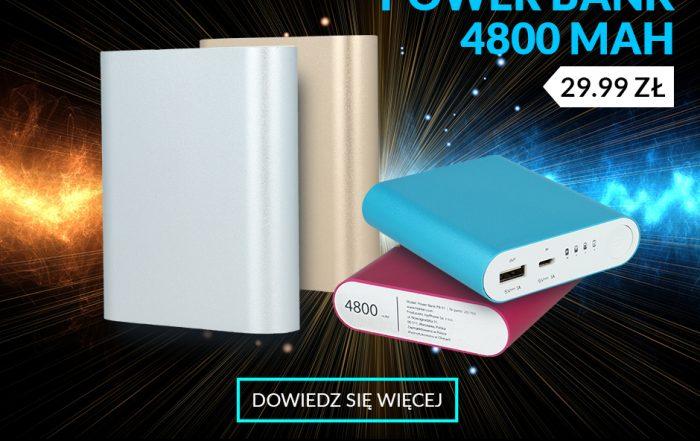 Power Bank 4800 Hykker