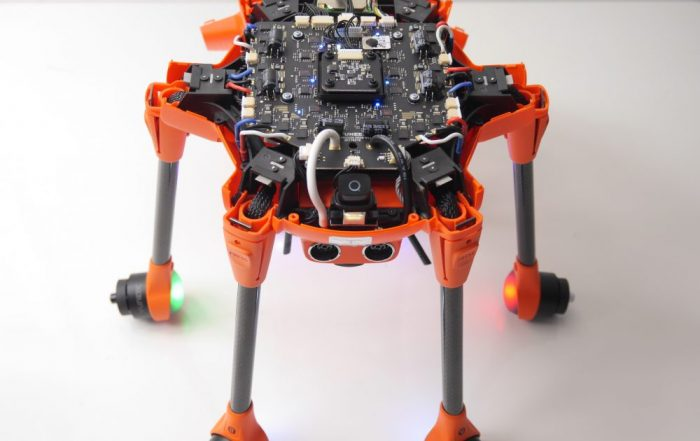 aeroMind Typhoon H520 unscrewing
