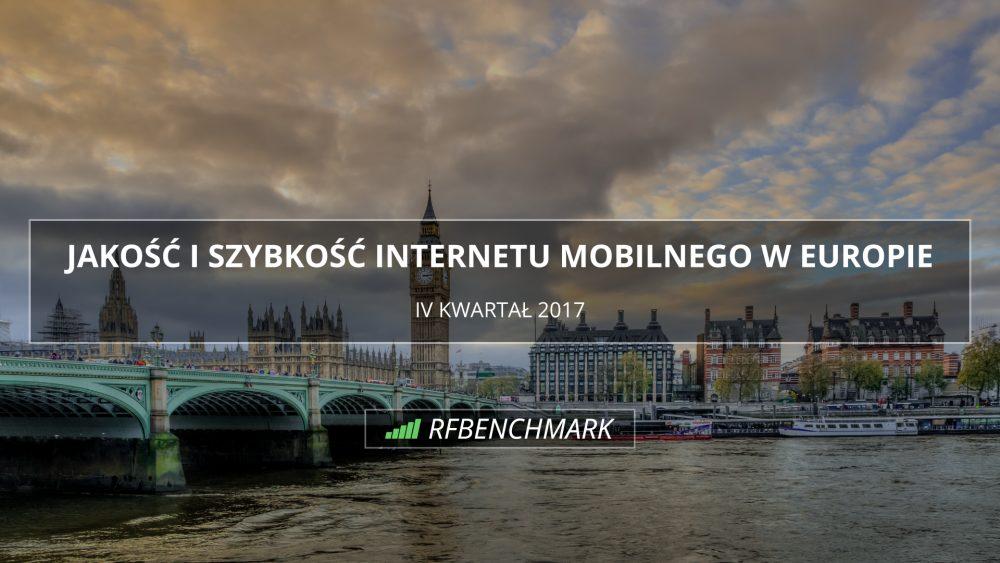 internet mobilny w EUROPIE Q42017