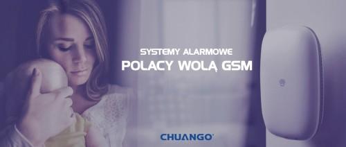 Systemy alarmowe GSM - Chuango