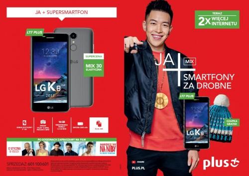 Plus JA+ MIX - smartfony za drobne