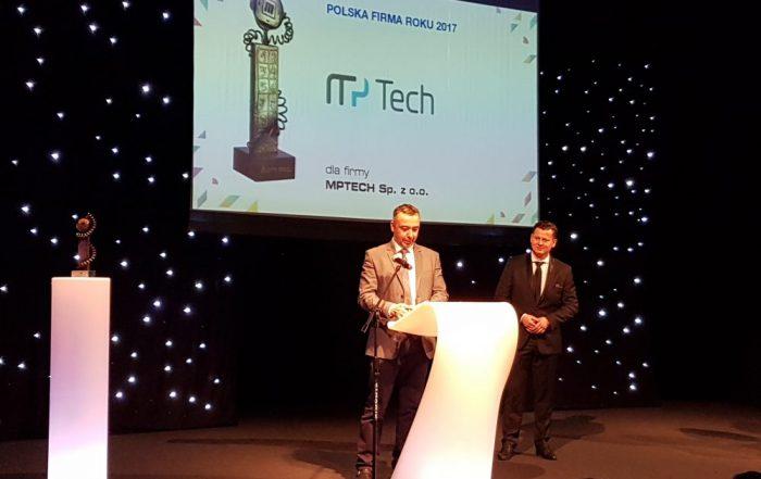 Gala Mobility Trends 2017 - Piotr Spychalski, Dyrektor sprzedaży w mPTech