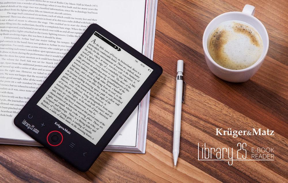 Czytnik e book Kruger Matz Library 2S