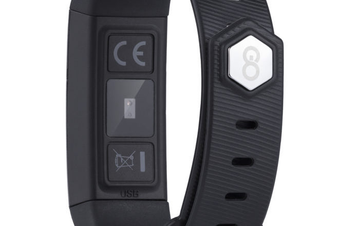 GOCLEVER Smart Band MAX FIT PREMIUM  tyl
