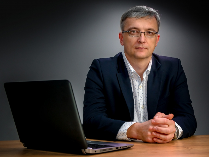 Marek Zaliński, członek zarządu NASK SA.