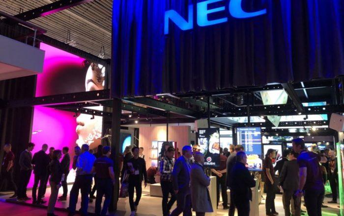 NEC na ISE 2018