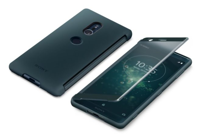 Xperia XZ2 Style Cover Touch SCTH40