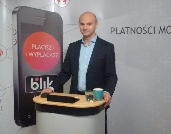 Dariusz Mazurkiewicz, prezes Polskiego Standardu Płatności, operatora BLIKA
