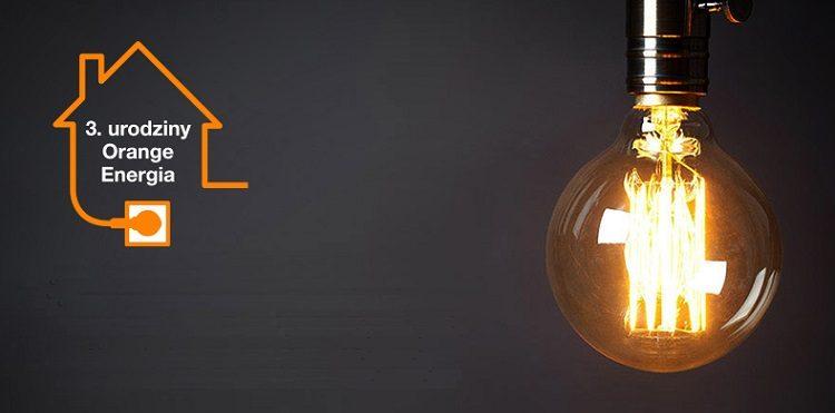 3 lata Orange Energia