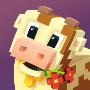 Blocky Farm Cow