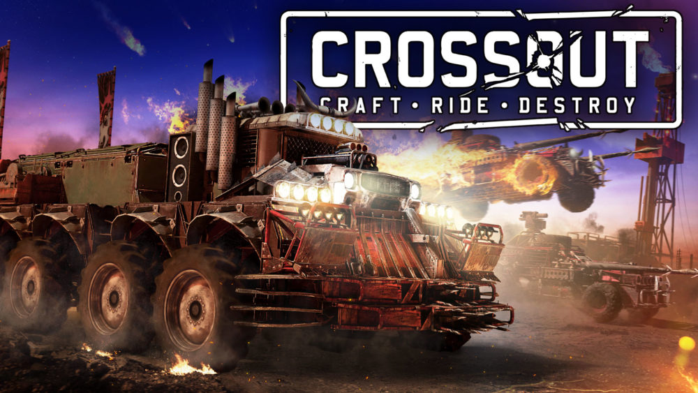 Crossout Keyart New Raids