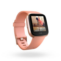 Fitbit Versa 3QTR Peach Exercise Yoga