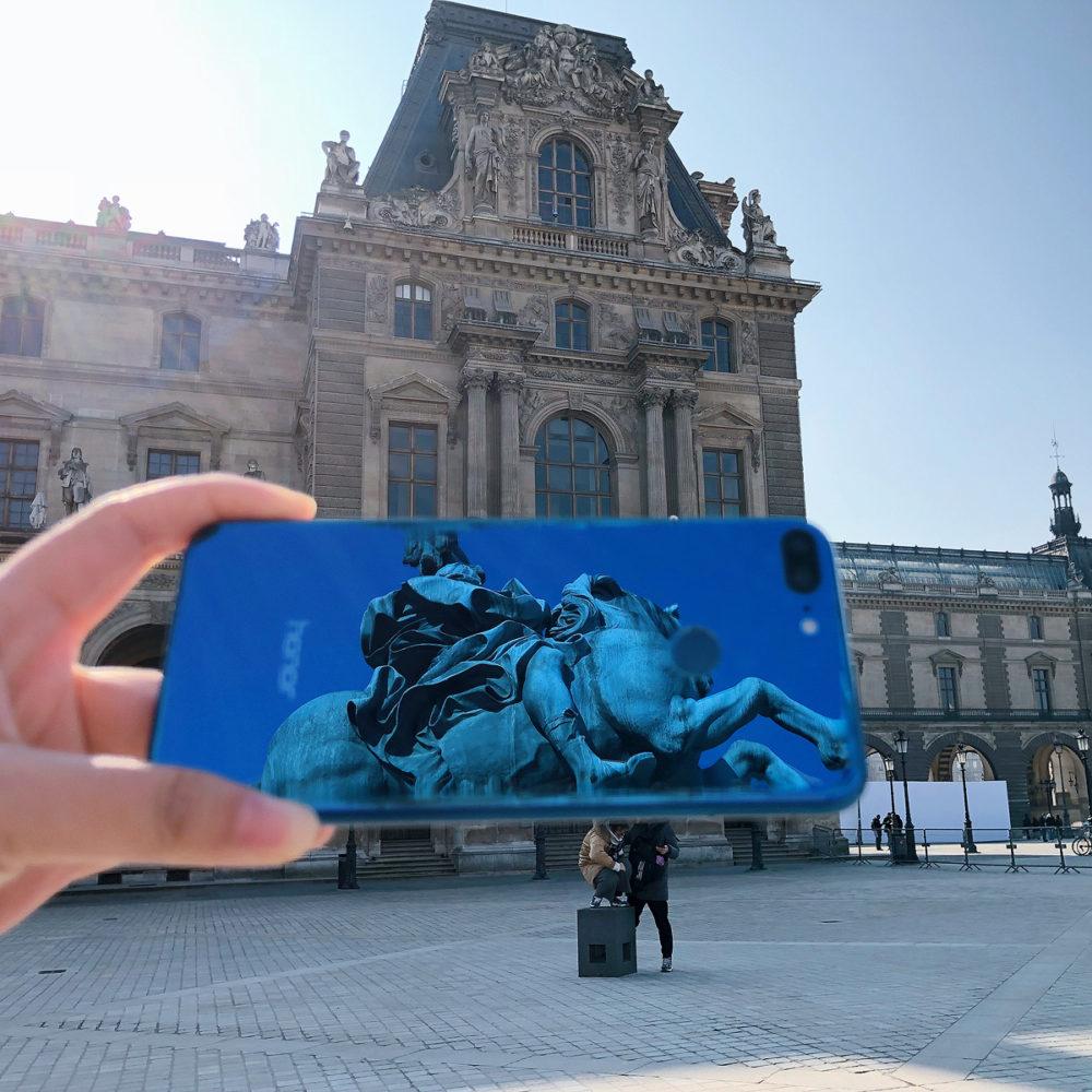 Honor 9 Lite in Paris
