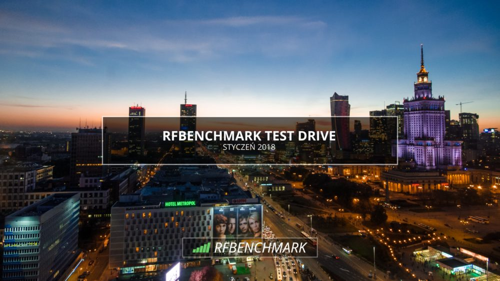 RFBenchmark - Drive Test Warszawa