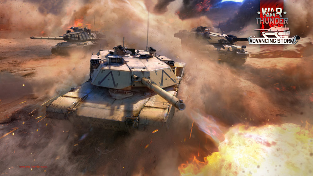 WarThunder 177 Advancing Storm
