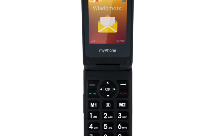 myphone FLIP 4 czerwony front