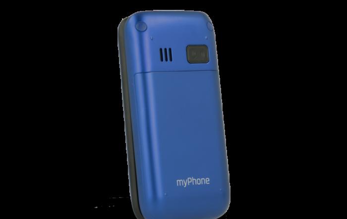 myphone FLIP 4 niebieski zamkniety ukos