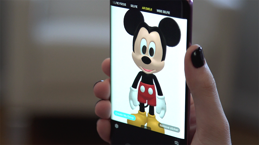 samsung disney ar emoji partnership 3