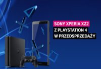 Sony Xperia XZ2 z konsolą PlayStation 4