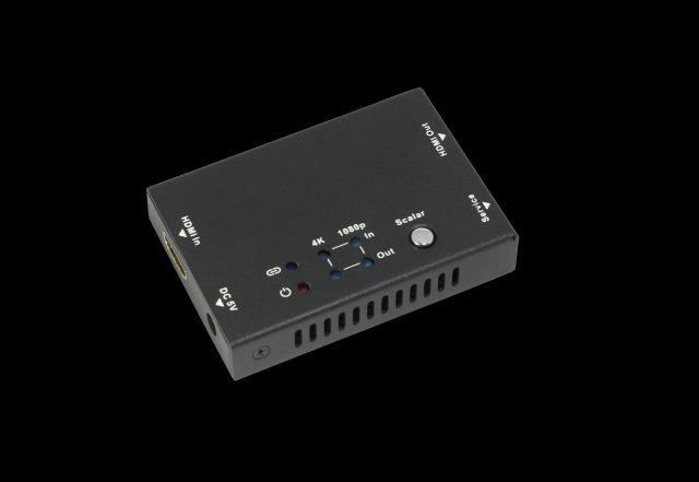2. HDV BS11 skaler HDMI HDMI HDCP 2.2 i 1.4 5