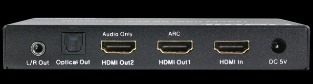 3. HDV B11A Deembedder audio z HDMI 4K@60Hz 6