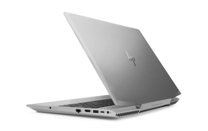 HP ZBook 15v Rear 3QL
