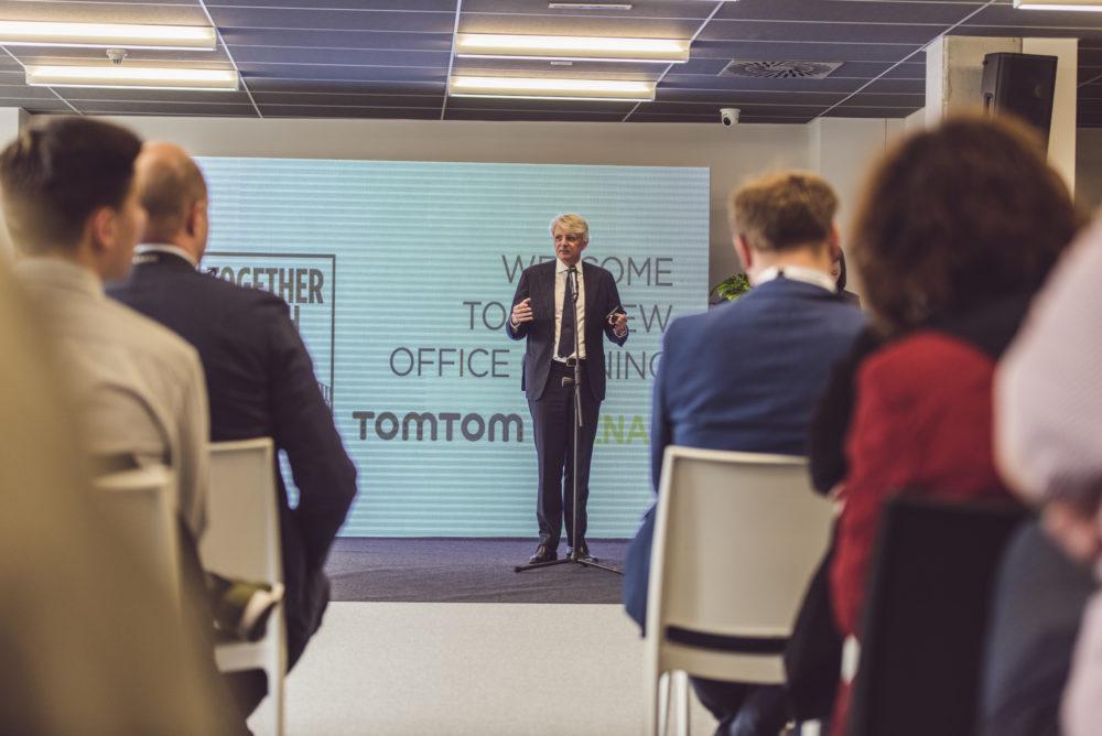 Harold Goddijn TomTom CEO