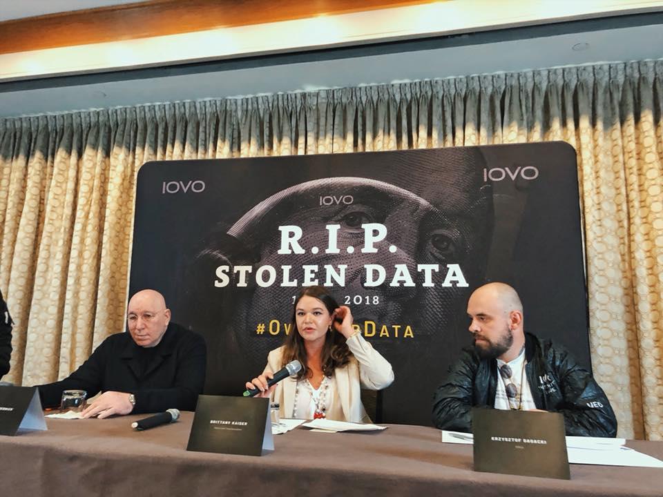 NYC1 Od lewej Jeffrey Wernick,Brittany Kaiser, Krzysztof Gagacki
