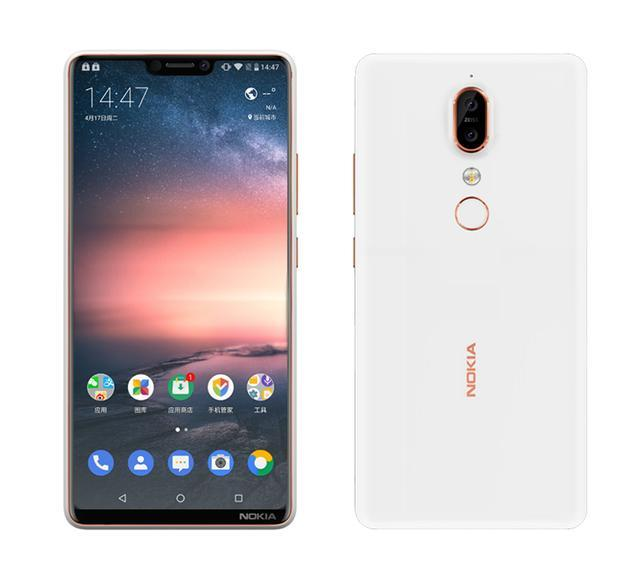 New Nokia X6 render