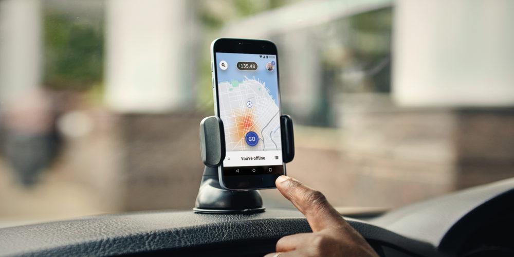 Uber app for