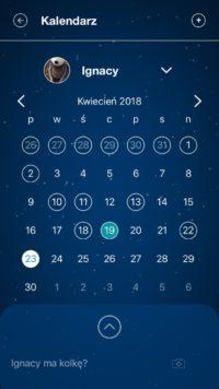 aplikacja whisbear   kalendarz