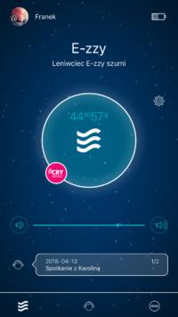 aplikacja whisbear ekran główny
