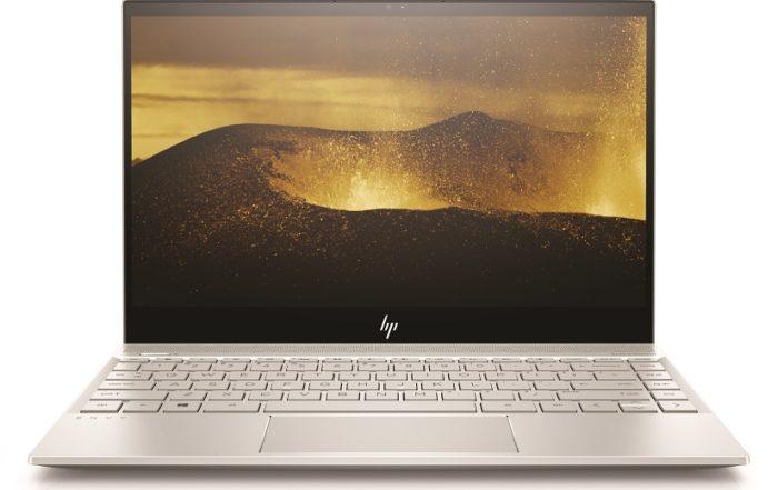 HP ENVY 13 Notebook Naturalsilver Frontopen