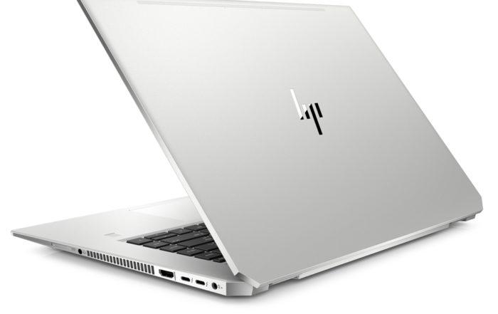 HP EliteBook 1050 G1 Rear Quarter