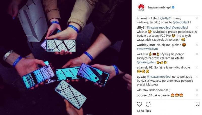 Huawei Instagram