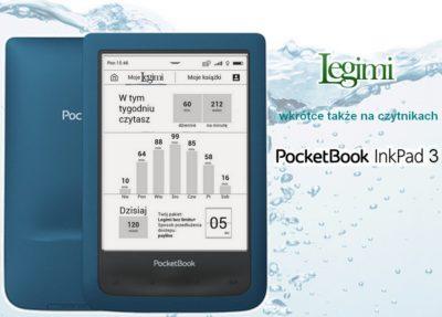 Kolejne czytniki PocketBook z Legimi