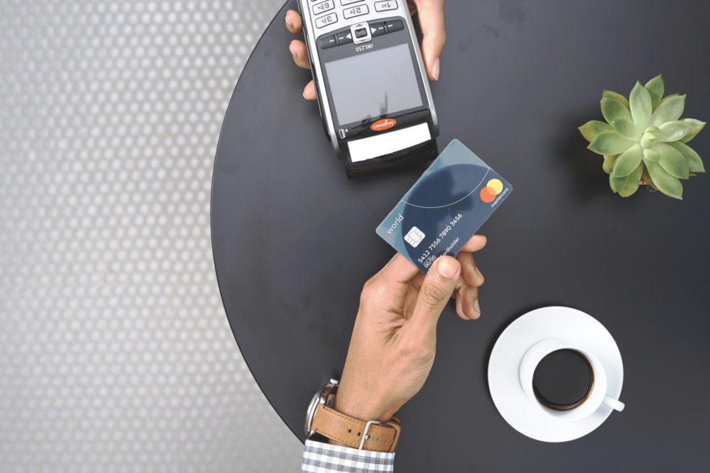 Mastercard contactless payment