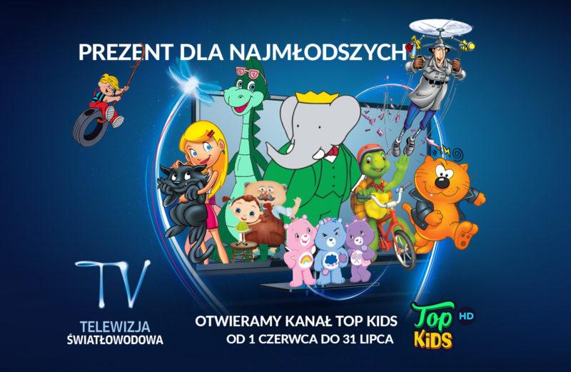 Top Kids otwarte okno Telewizja Swiatlowodowa