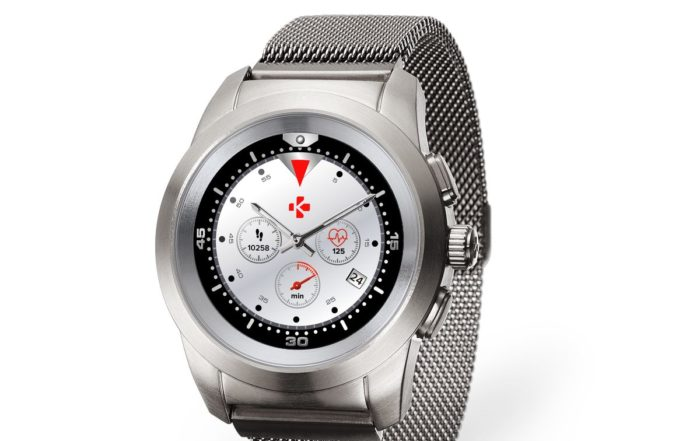 ZeTime Elite Brushed silver Milanese 3.4 view Watchface