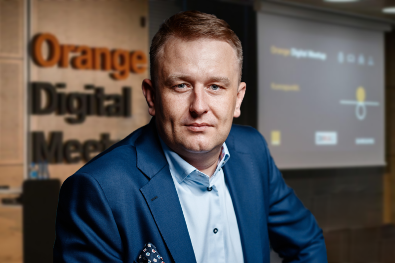 Arkadiusz Seredyn, Executive Vice President & Chief Commercial Officer w Synerise S.A.,
