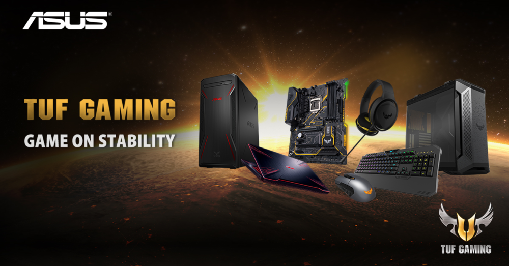 ASUS TUF Gaming series lineup