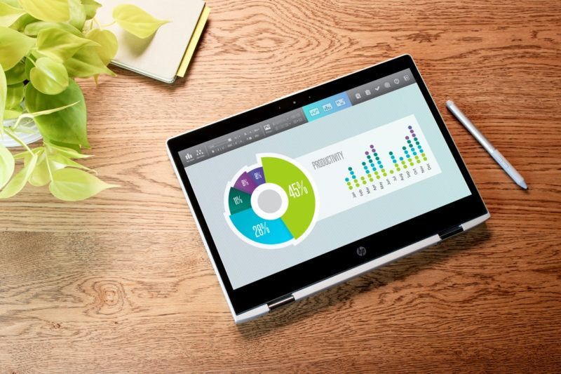 HP ProBook x360 440 G1 Lifestyle Tablet Mode