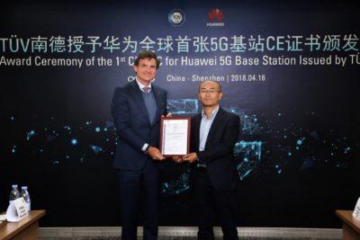 Huawei z certyfikatem CE