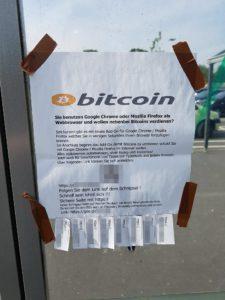 Kopanie Bitcoinów na parkingu