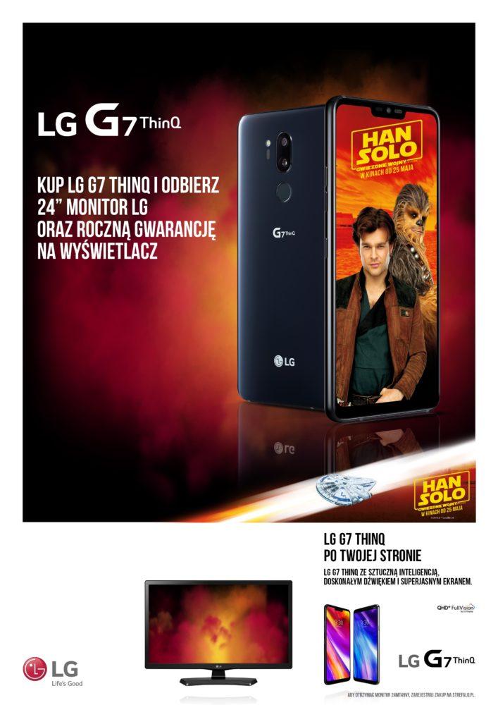 LG G7 ThinQ po Twojej stronie monitor